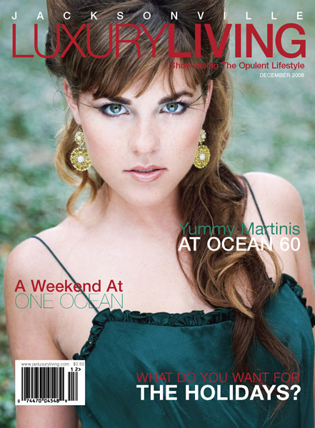 Grazyna Mercado Ponytail Hairstyle Updo for Jacksonville Magazine