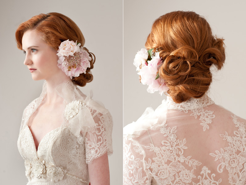 Grazyna Mercado Wedding Bridal Updo Hairstyle
