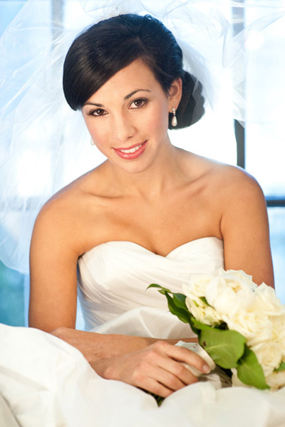Grazyna Mercado Bridal Updo Wedding Hairstyle
