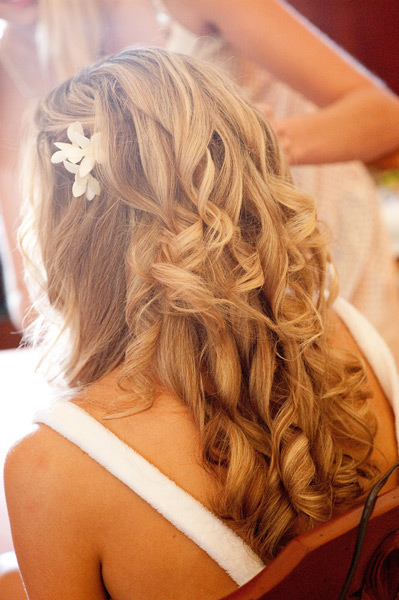 Grazyna Mercado Bridal Hairstyle with Curls for Wedding
