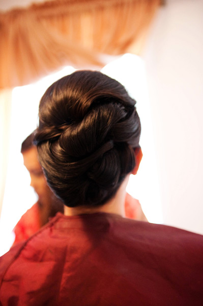 Grazyna Mercado Wedding Hairstyle Twisted Bridal Hair