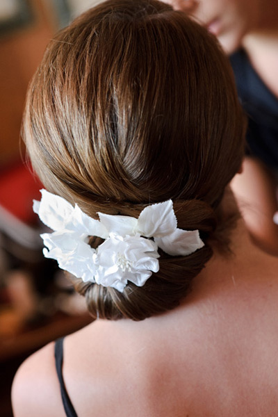 Grazyna Mercado Wedding Hairstyle Bridal Hair with Flowers