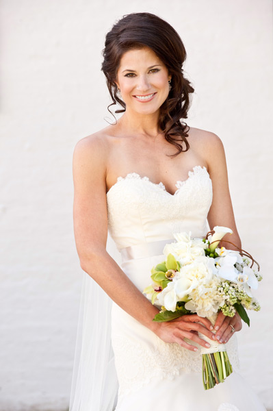 Grazyna Mercado Wedding Hair Bridal Hairstyle with Curls