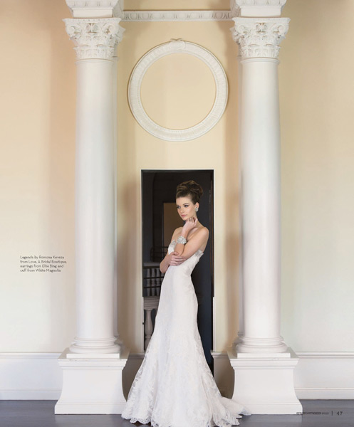 Grazyna Mercado Summer Wedding Hair for Bride for Jacksonville Magazine