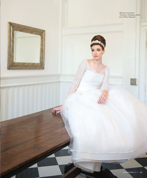 Grazyna Mercado Brown Hair Bride Updo for Wedding for Jacksonville Magazine