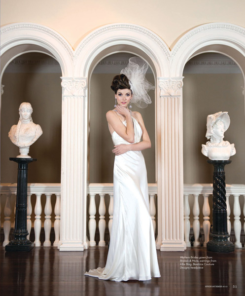 Grazyna Mercado Bridal Hairstyle Brown Hair Updo for Wedding Jacksonville Magazine