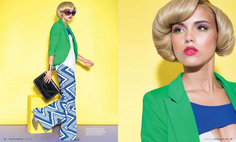 Grazyna Mercado Modern Fashion Hairstyle for Short Hair in Jacksonville Magazine