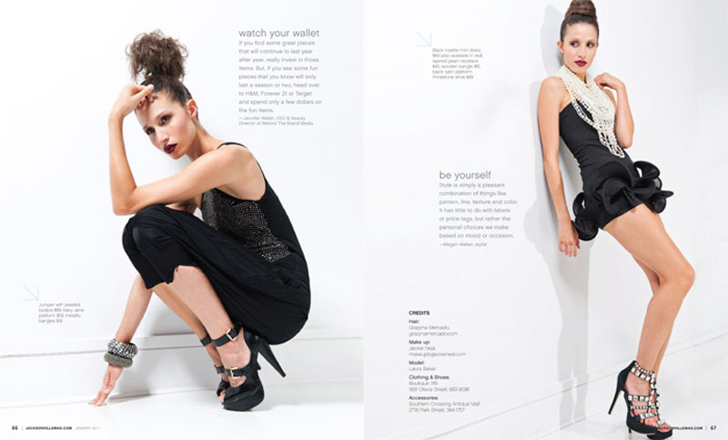 Grazyna Mercado Fashion Updo Hairstyle Brown Hair for Jacksonville Magazine
