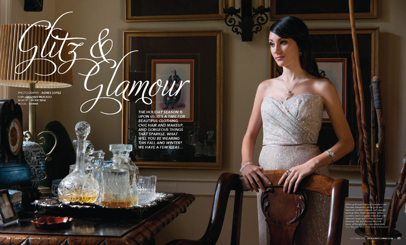 Grazyna Mercado Classic Wedding Hair Bridal Hairstyle for Jacksonville Magazine