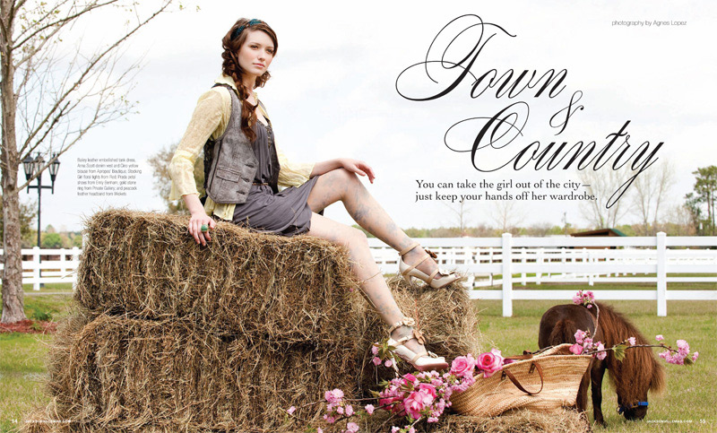 Grazyna Mercado Brown Hair with Curls for Jacksonville Magazine