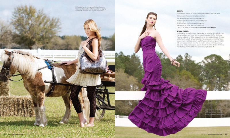 Grazyna Mercado Curly Updo for Jacksonville Magazine