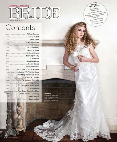 Grayzna Mercado Red Hair Curls for Wedding Hairstyle Jacksonville Magazine