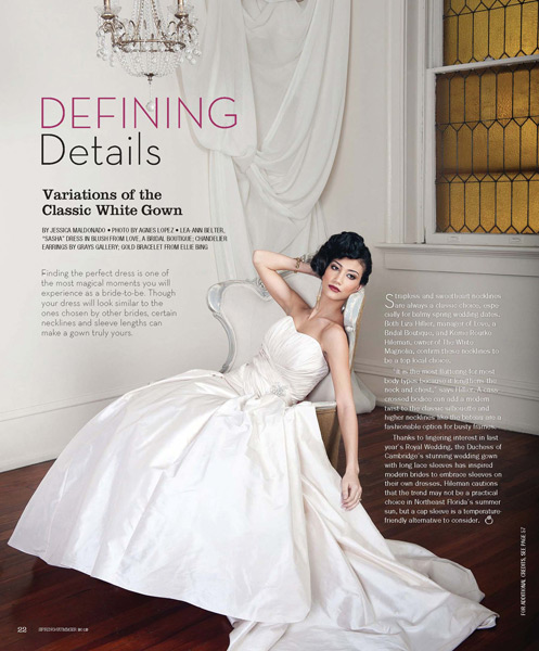 Grayzna Mercado Wedding Brown Hair Bridal Updo Jacksonville Magazine