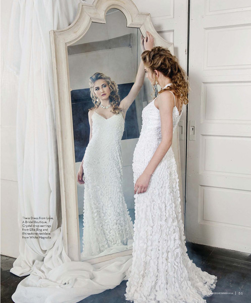 Grazyna Mercado Wedding Updo with Curls for Bride Jacksonville Magazine