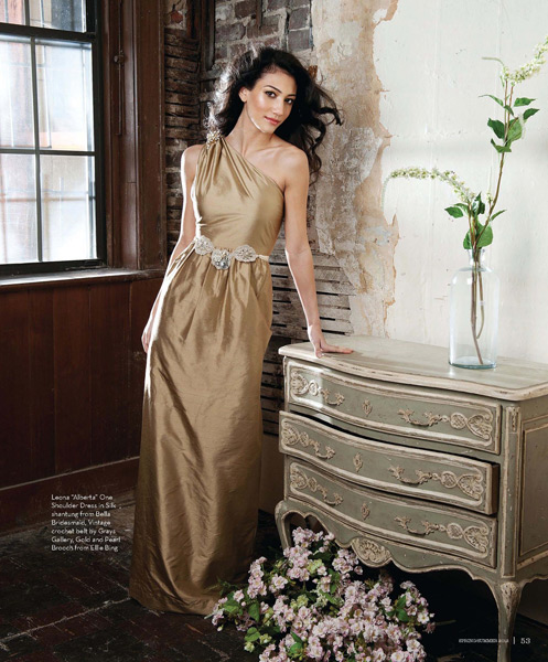 Grazyna Mercado Bride Curly Brown Hair for Wedding Jacksonville Magazine