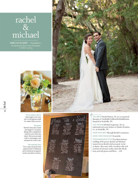 Grazyna Mercado Wedding Hairstyle Bridal Hair at Amelia Island for The Knot Magazine